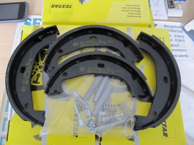 Textar Handbremsbacken mit Einbausatz Chev. Captiva und Opel Antara Satz hinten