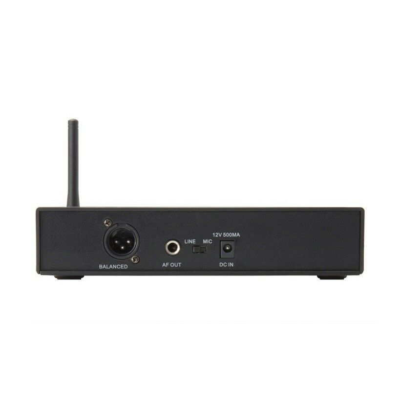 Sistema De Micrófono Micrófono Micrófono Inalámbrico Auriculares Micrófono Inalámbrico Uhf 100 canales Set a2872e