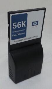 Hp 56 Kbps Fax/modem-carte Compactflash-grade A (fa132a#ac3)-afficher Le Titre D'origine Doux Et LéGer