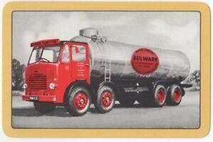 Playing-Cards-Single-Card-Old-LEYLAND-OCTOPUS-TANKER-Advertising-Art-Petrol-Gas