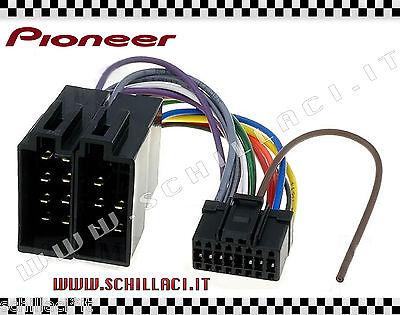 Acquista A Buon Mercato C01 - Connettore Adattatore Iso Autoradio Pioneer Dex-p99rs Dex P 99 Rs 16 Pin Per Vincere Una Grande Ammirazione