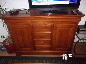 ensemble meubles louis Philipe bois merisier