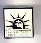RARE PINS PIN'S .. TOURISME USA STATUE LIBERTE LIBERTY NEW YORK N.Y VIDEO TV ~CK