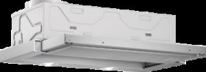D Bosch dfl063w55 plat parapluie Capot Argent Métallique Largeur 60 cm EEK