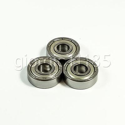 6x17x6 mm 606ZZ Metal Double Shielded Ball Bearing Bearings 6*17*6 5 PCS
