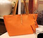 Women PU Leather Tote Shoulder Bags Hobo Handbags Satchel Messenger bag Purse AC