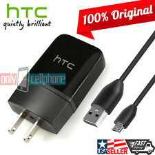 Original HTC Charger Rapid 1.5A Premium Home Wall OEM Charger & Data Sync Cable