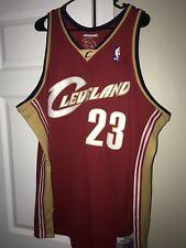 4b8492d4a8e1 Cleveland Cavaliers Mitchell   Ness Lebron James Swingman Jersey XXL NWT   130