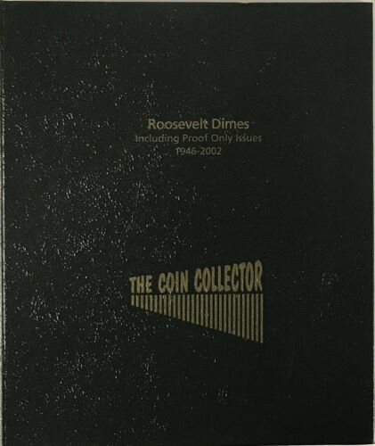 Coin Collector Album For US Roosevelt Dimes High Quality NO PVC New /& Durable