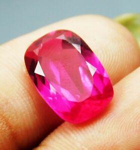 Natural-5-15-Ct-Pink-Tourmaline-Cushion-Shape-Loose-Gemstone-A-9665