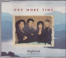 One More Time-Highland cd maxi single