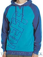 J1547 • Neff Corporate Hoodie Mens Size Xl Blue / Teal - 26798