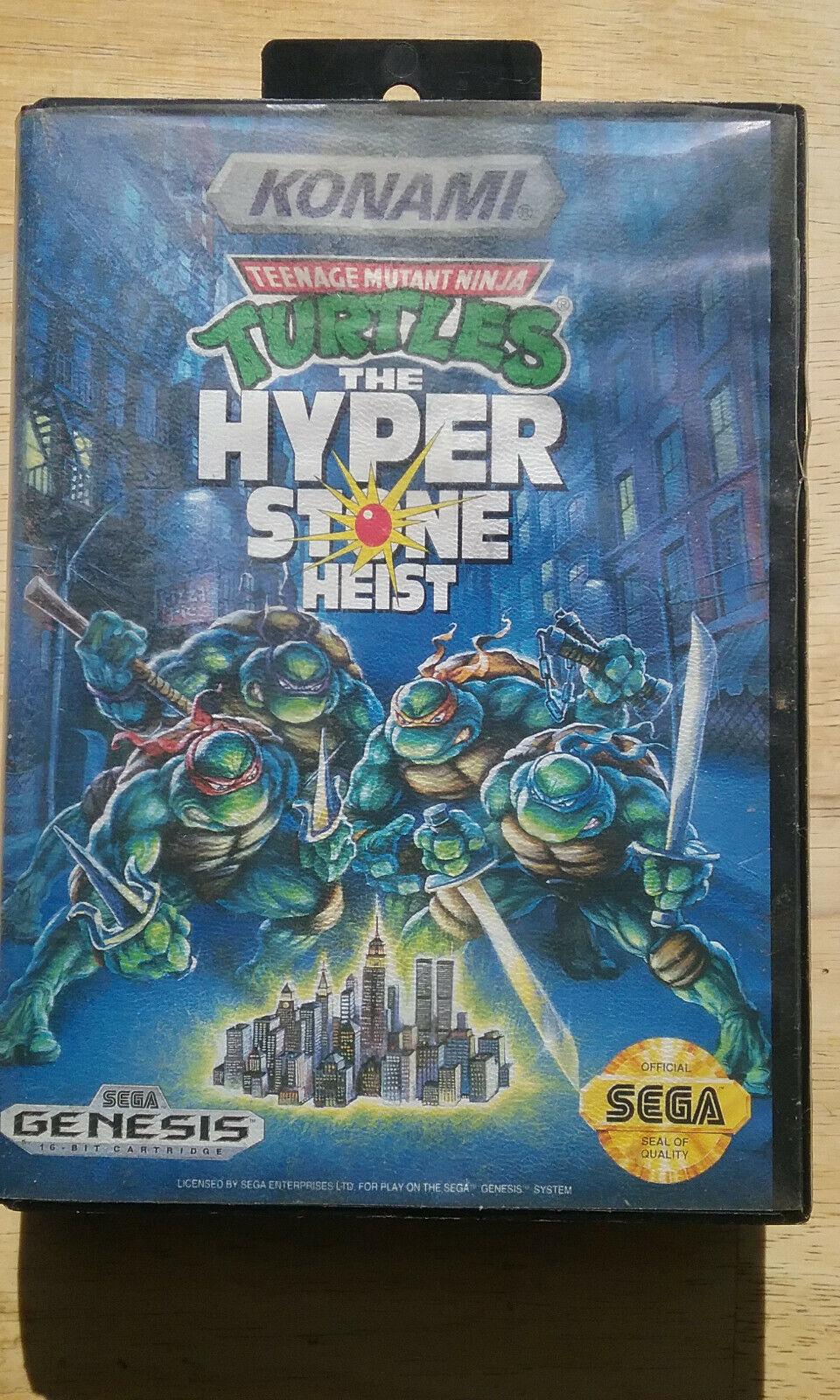 Teenage Mutant Ninja Turtles The Hyperstone Heist Genesis 1992 For Sale Online Ebay