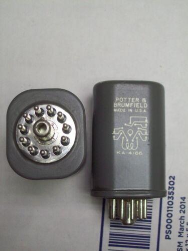 POTTER /& BRUMFIELD RELAY 11 PINS  KA-4166