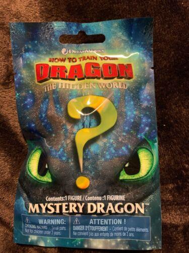 Train Your Dragon Hidden World Blind Bag Baby Night Light Fury Mini Green Eyes