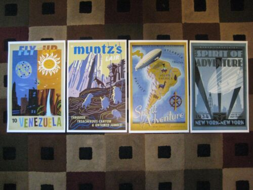 "11/"" x 17/"" UP - Disney - Collector/'s Poster Prints Pixar Set of 4"