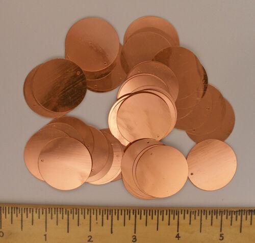 Paillettes Or Cuivre 30 mm Paillettes Plat ~ 50 ou ~ 250 25/% de réduction morceaux loose