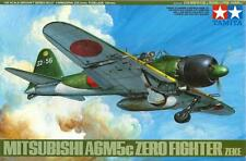 MITSUBISHI A6M5c ZERO/ZEKE (W/PILOT & GROUND CREW)/JAPANESE AF MKGS/ 1/48 TAMIYA