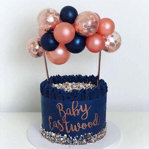 Tremendous 5 Inch Mini Balloons Cake Toppers Birthday Wedding Cake Decoration Funny Birthday Cards Online Elaedamsfinfo