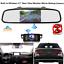 Built-in-Wireless-4-3-034-Car-Rear-View-Monitor-Mirror-Reverse-Backup-Monut-Camera thumbnail 1