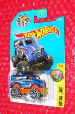 2017 Hot Wheels Monster Dairy Delivery  #161 DVB81-D9WMT  MONTH  HW Art Cars