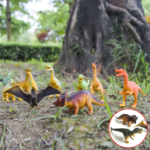12 ~ 10cm Dinosauro Giocattolo Gioco Animale Action Figure NOVITÀ FASHION Collection
