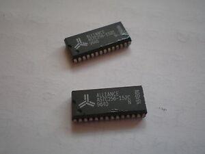 Chip AS7C256-15JC Sram Alianza 28 Pin Pack De 2 piezas HU156