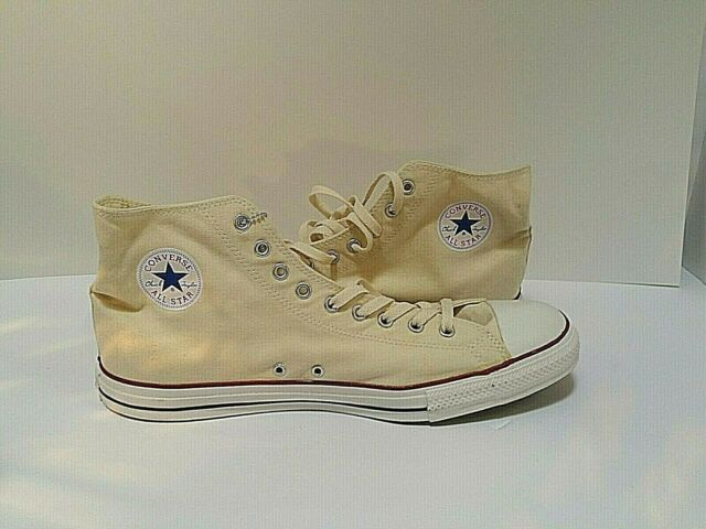 Size 16 - Converse Chuck Taylor All Star High Natural White for ...