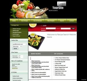 ORGANIC-FOOD-amp-RECIPES-Website-Business-Online-Earnings-Google-Adsense