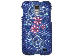 Diamond-Plastic-Phone-Cover-Case-Juicy-Flower-For-Samsung-Galaxy-S-2-Skyrocket
