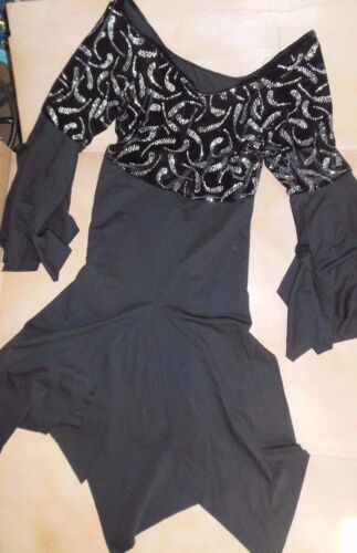 NWOT Praise Velvet Overdress Liturgical Church Flyers Dance Black Womens Plus