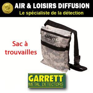 Détecteur de métaux, sac à trouvailles Hipmount GARRETT neuf en stock