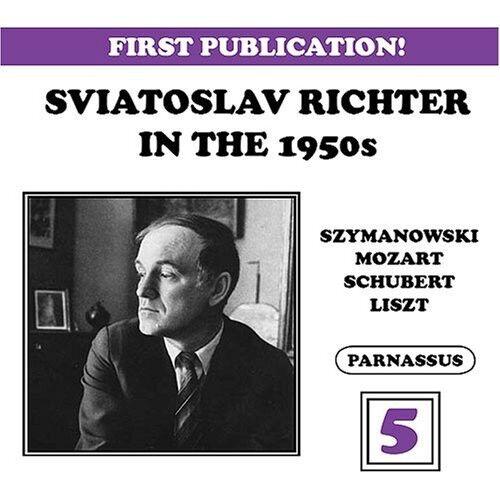 Sviatoslav Richter - Sviatoslav Richter in the 50's 5 [New CD]