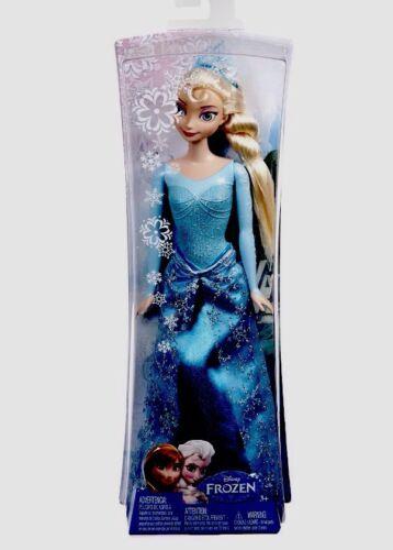 "Ship Fast Disney Frozen Sparkle Princess Elsa Doll 12/"""