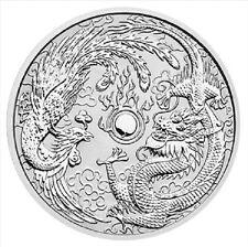 AUSTRALIE 1 Dollar Argent 1 Once Dragon et Phoenix 2017 - 1 Oz silver coin
