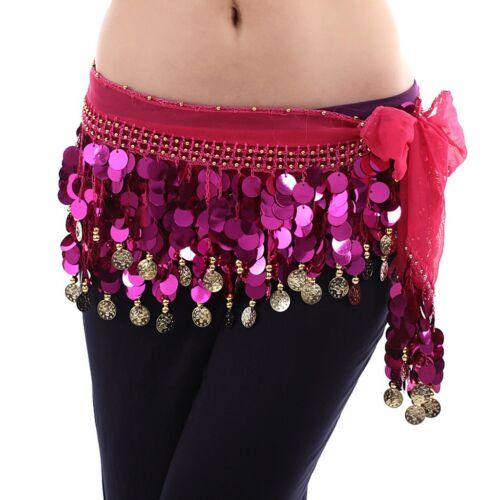 Belly dance Hip Scarf waistband belt skirt Dance practice skirt colors choose