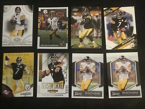 Lot-Of-50-Pittsburgh-Steelers-Cards-Plus-An-Additional-5-Ben-Roethlisberger