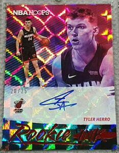 2019-20-NBA-Hoops-Tyler-Herro-RC-Rookie-Ink-Auto-Autograph-Miami-Heat-25
