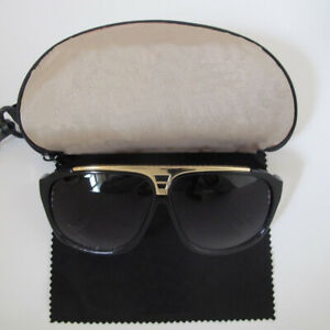 Black-amp-Gold-Millionaire-Sunglasses-With-FREE-CASE-CLOTH
