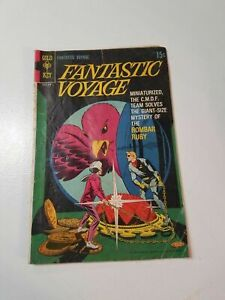 Fantastic Voyage Comic Book CMDF Team Gold Key 1969