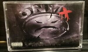 Onyx - All We Got Iz Us Cassette Tape rare gangster rap hip hop 1995