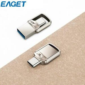 EAGET-2-in-1-USB-3-0-Type-C-3-1-Flash-Drive-Memory-Stick-U-Disk-16GB-32GB-64GB