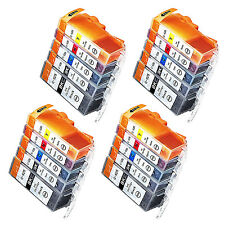 20 Drucker.- Tintenpatronen für Canon(TM) Pixma ip 4850 ip 4950 iX 6520 iX 6550