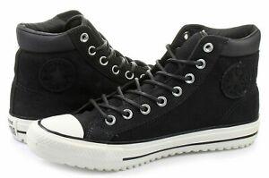 Converse-Mens-CTAS-PC-Boot-Leather-153675C-Almost-Black-Egret-Black-Sizes-9-10