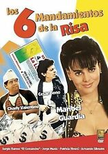 Los 6 Mandamientos De La Risa DVD BRAND NEW FACTORY SEALED