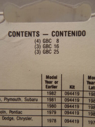 3 16 Littelfuse 094368 European Emergency Ceramic Fuse Kit 25 GBC 8 3 4