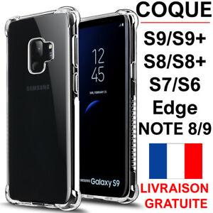 COQUE-POUR-SAMSUNG-GALAXY-S9-S9-PLUS-S8-S7-S6-EDGE-RENFORCE-SOUPLE-CASE-BUMPER