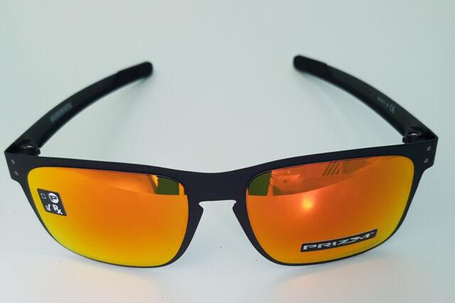 Oakley Holbrook Metal Matte Black Frame Prizm Ruby Oo4123-1255   eBay