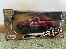 1992 GMC Sierra GT Pickup Off Road Red 1:24-79136 Nouveau Motormax