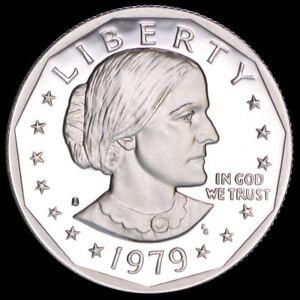 Uncirculated SBA 1979-S Susan B Anthony Dollar